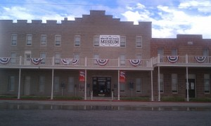 The historic Orient Hotel and Saloon is now a museum.
