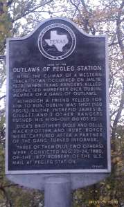 The Outlaws of Pegleg Station.