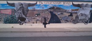 The Legendary Road is art and history.