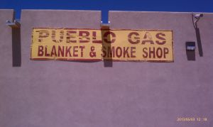 Gas, blankets, and smokes.