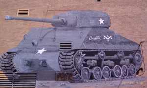 A tank named Annette.