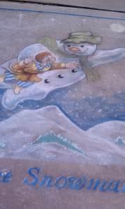 A fantasy winter scene.
