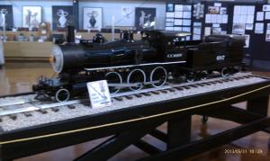Historic exhibits to educate and model trains for fun.