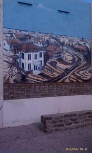 Part three of Kermit history murals.