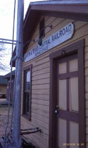 Welcome to the Burnet office of the railroad.