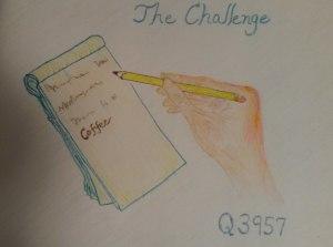 Q3957, Act I, The Challenge.