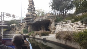 A grotto along the river walk.