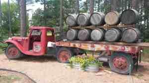A few barrels full.