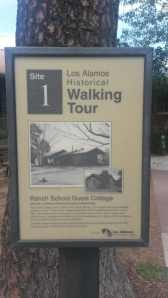 A walking tour of historic Los Alamos.