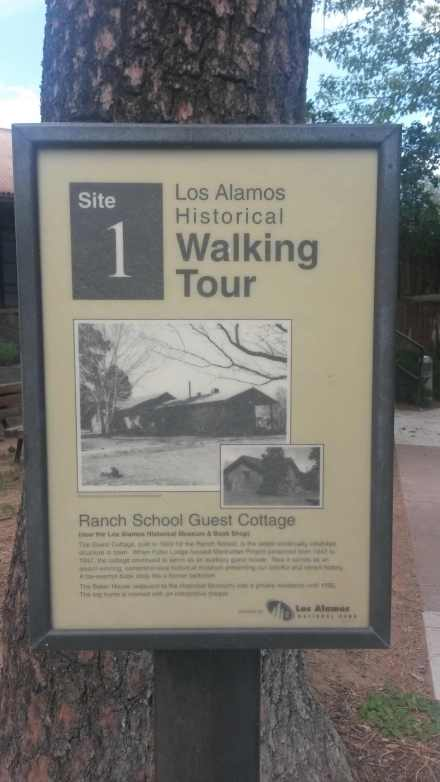 A walking tour of historic Los Alamos.