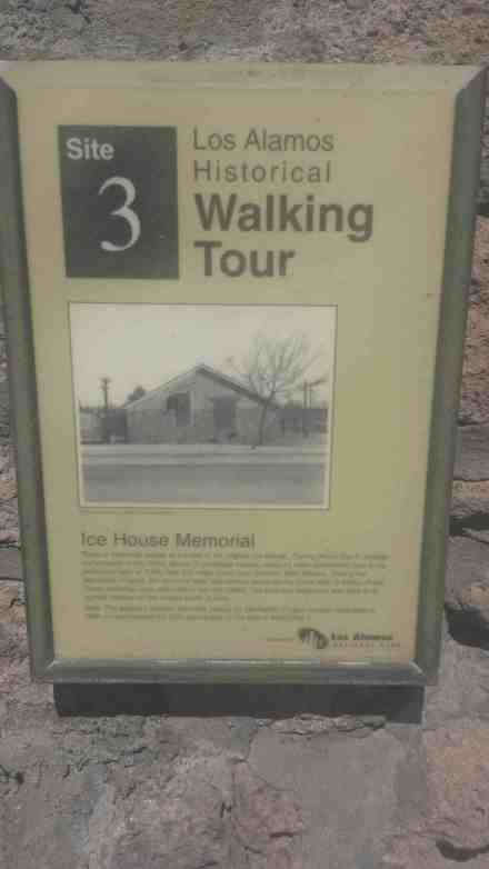 Historical Walking tour site number 3.