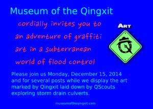 An invitation to art and adventure.