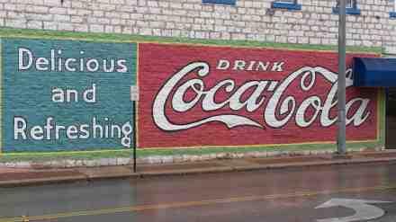 Vintage ads as art.