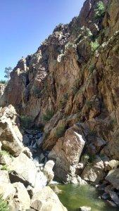 A cool mountain stream.