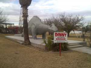 Alley Oop's pet dinosaur, Dinny.