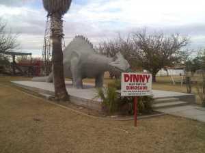 Alley Oop's pet dinosaur, Dinny.