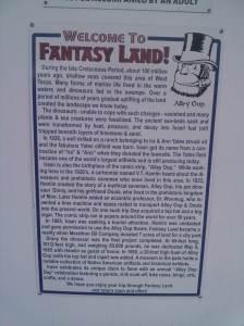 A fantasy land primer.