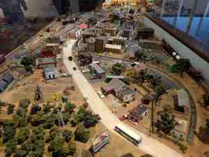 You can play with the trains at this railroad museum.