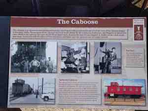 Learn about the caboose.