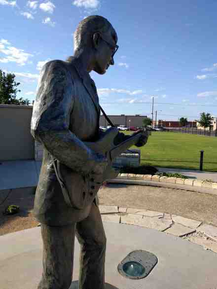 A tribute to Buddy Holly.