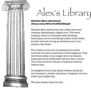 Information from Alex's Library.